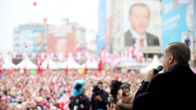 """Ρετζέπ Ερντογάν, ο """"διωκόμενος διώκτης"""""""