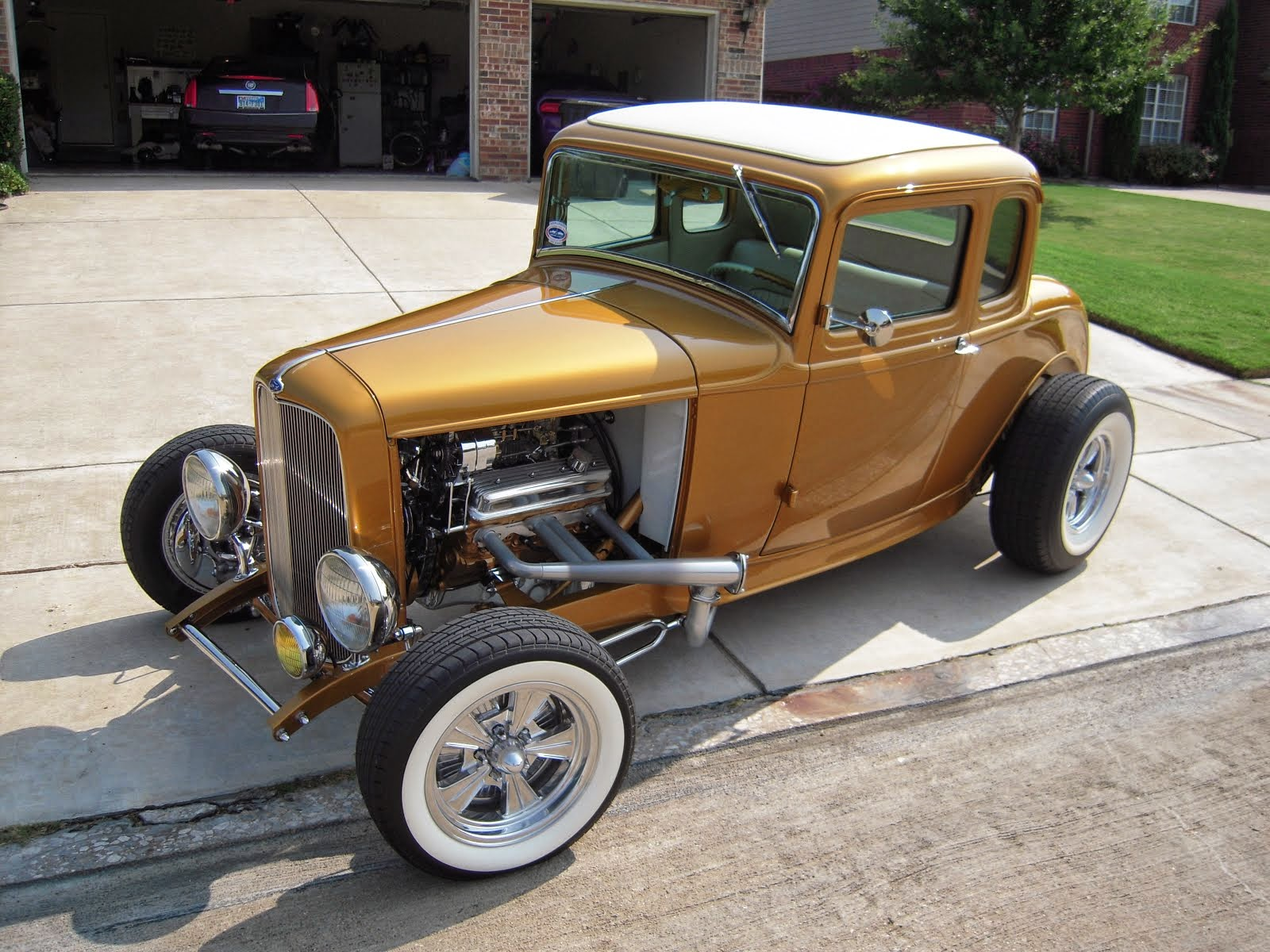 My old 1932 Ford Five Window Coupe
