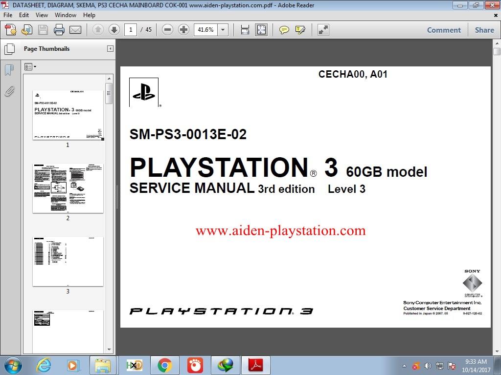 Pdf ps3 service manual