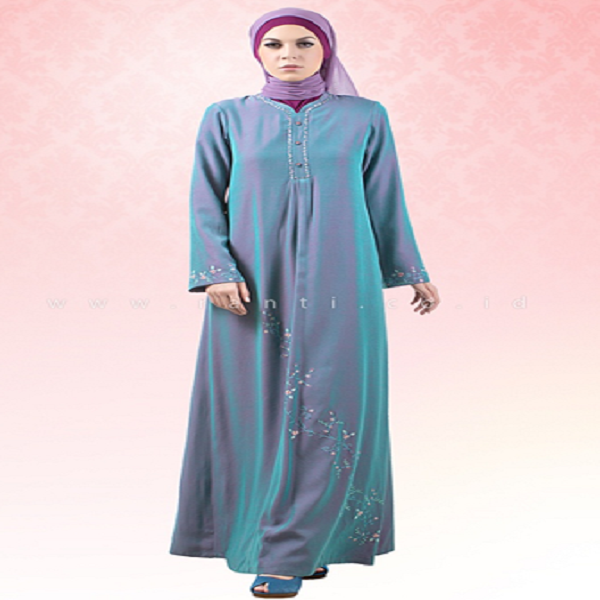 Model Baju Gamis Terbaru Yang Elegan Dan Simpel