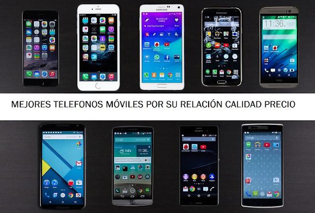 Mejores teléfonos móviles