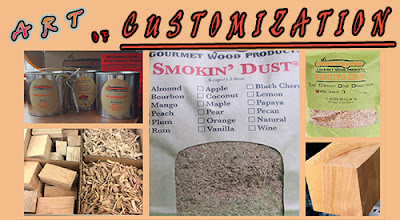 Customized Smoking Wood Products Make a Difference with Equipment Efficiency and Taste