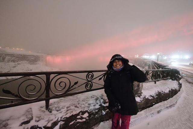 Farah H at Niagara Falls