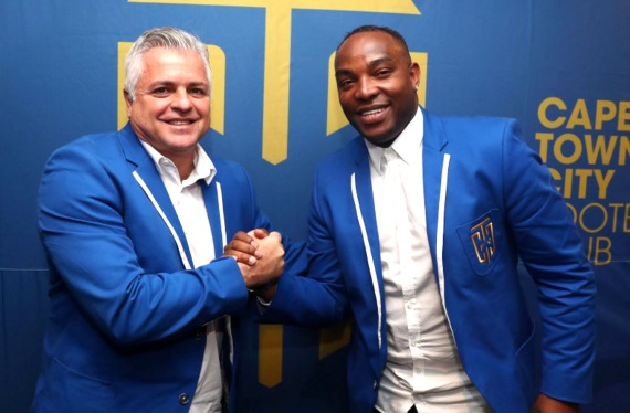 Benni McCarthy joins Cape Town City