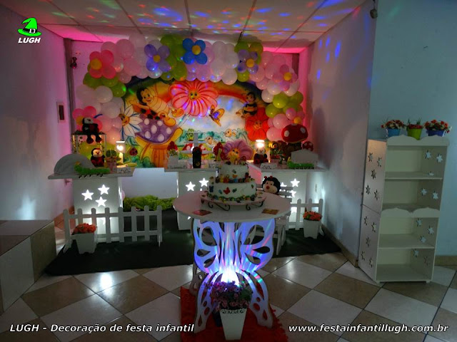 mesa de festa infantil jardim encantado : mesa de festa infantil jardim encantado:Jardim Encantado – tema para mesa de aniversário infantil em