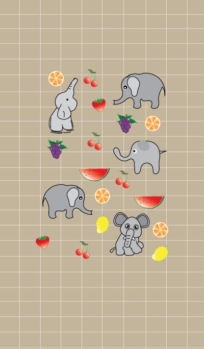 Cute elephant theme v.3 (JP)