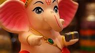 Cute Ganesha Mobile Wallpaper | Lord Bala Ganesha