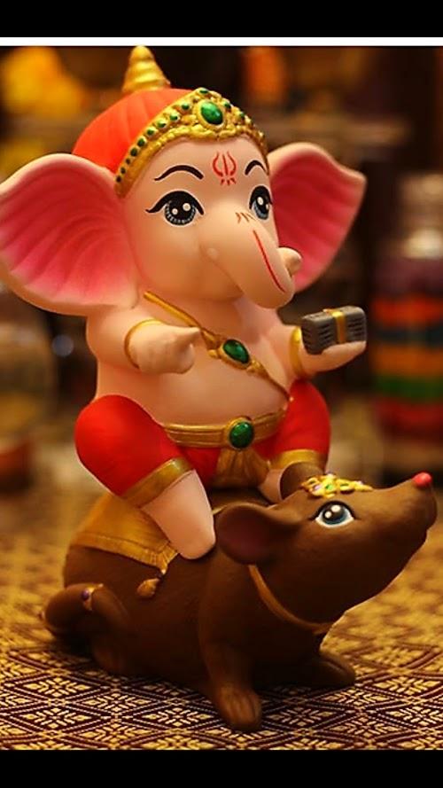 Cute Ganesha Mobile Wallpaper   Lord Bala Ganesha