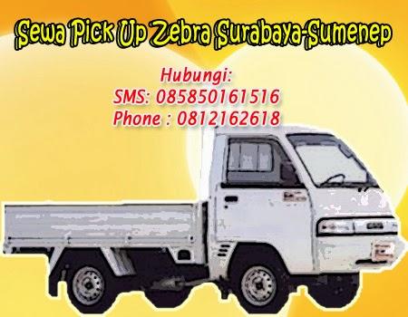 Rental Pick Up Zebra Surabaya-Sumenep