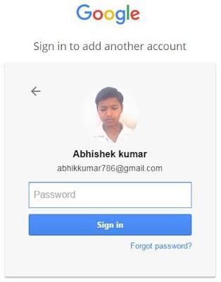 Google Console me login kare apne gmail account ki id se