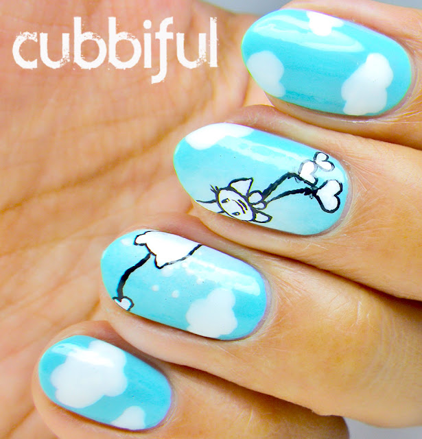 Kawaii Cat Nail Art