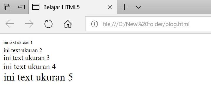 Cara Merubah Ukuran, Warna, & Tipe Font Di HTML - MUL CODE