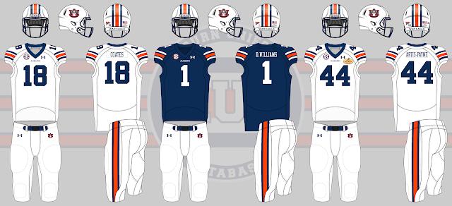auburn football uniforms 2014 outback bowl