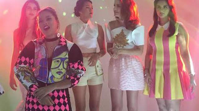 Ada Model Cantik Dari Berbagai Negara di Videoklip Aurel Hermansyah