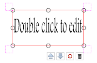 Double Click to Edit Text Box