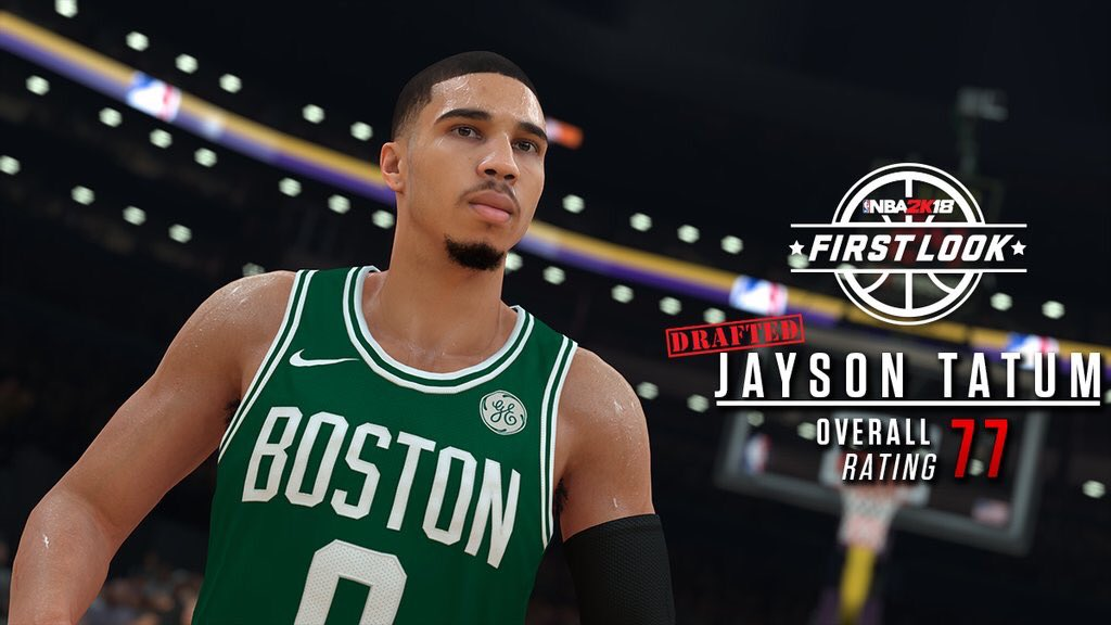nba 2k released jayson tatum s highly controversial overall player