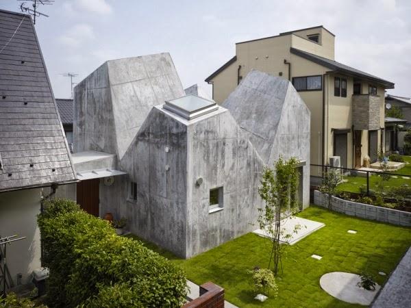Case giapponesi contemporanee casa a kohoku torafu for Case contemporanee