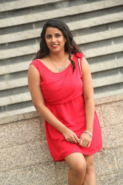 Shravya Reddy Stills At Kaadhali Audio Launch