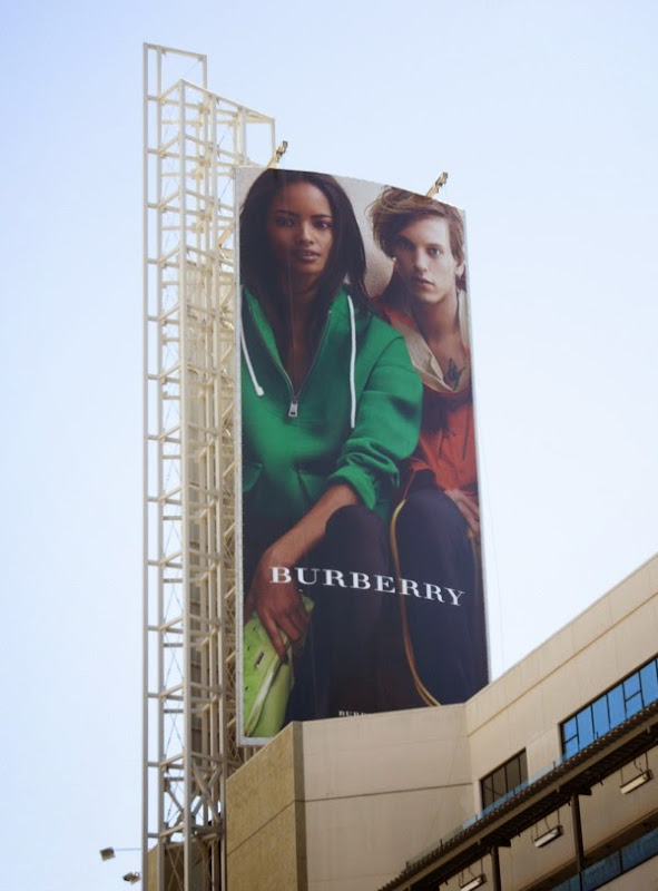Burberry casual Summer 2014 billboard