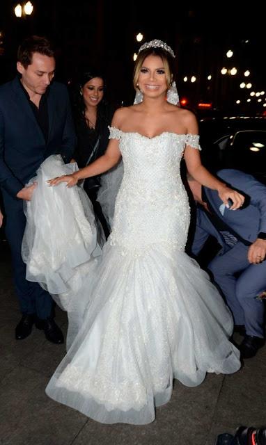 Lexa vestido Israel Valentim