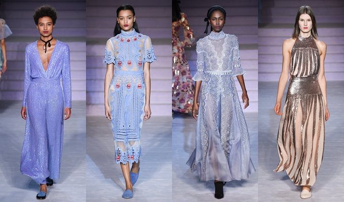 Best of Milan and London FW Fall 2017.Fall 2017 Temperley London.