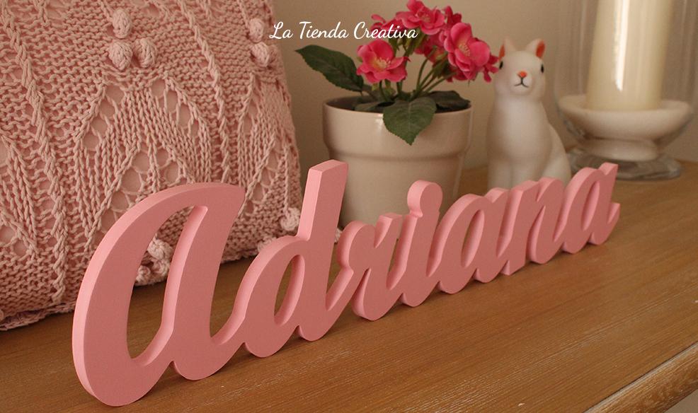 letras infantiles para decorar adriana