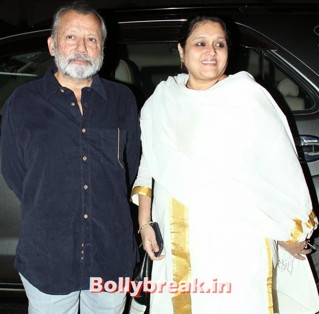 Pankaj Kapoor and Supriya Pathak