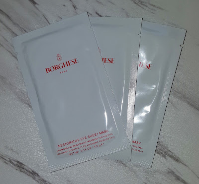 Borghese Fango Mud Masks and Restorative Eye Sheet Mask