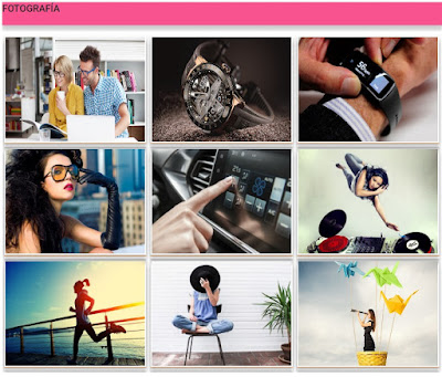 Plantilla gratis para Blogger - Live Style Material Disign Blogger