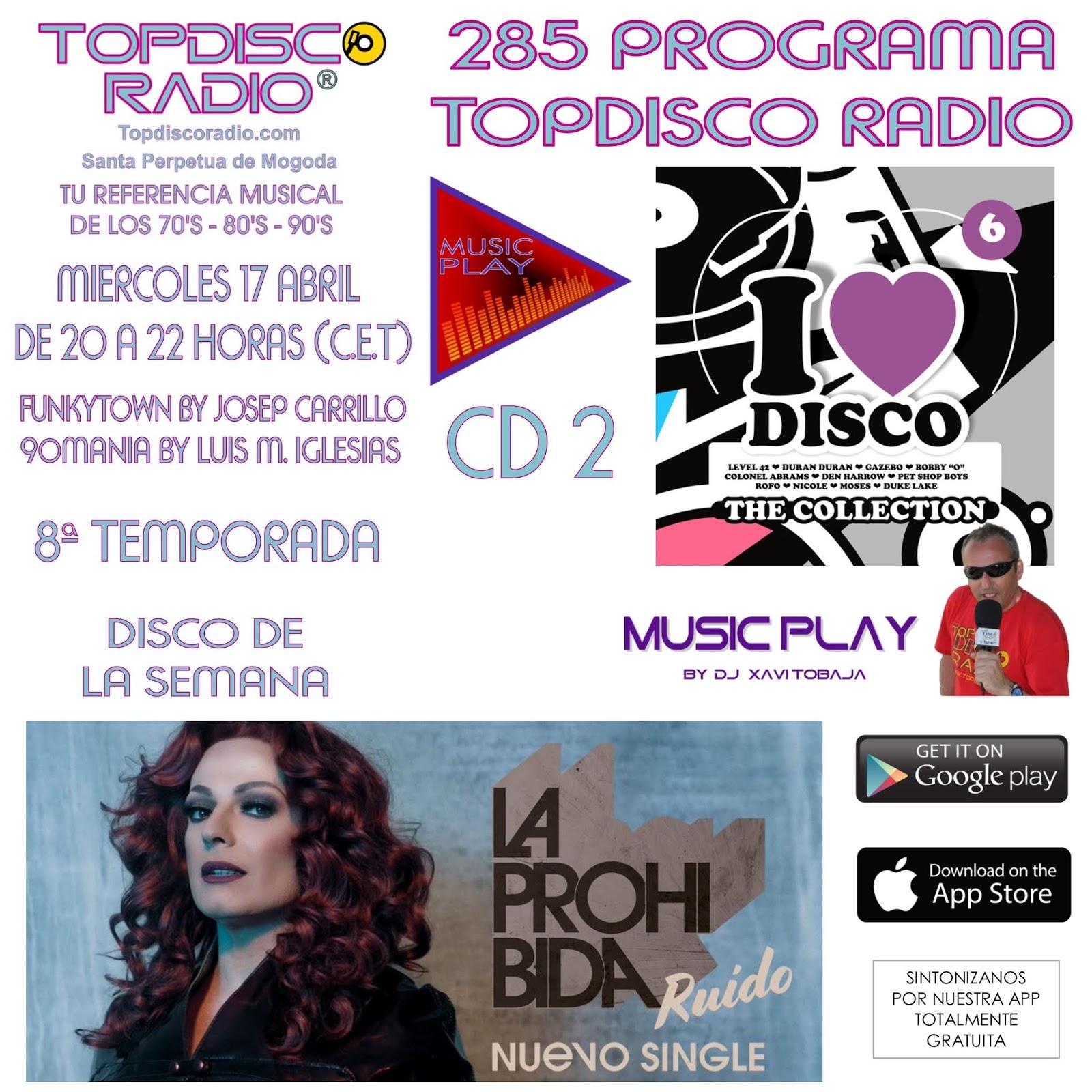 285 Programa Topdisco Radio