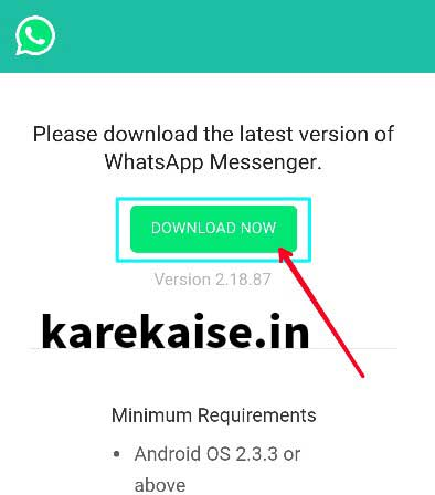 Android me Whatsapp download kaise kare