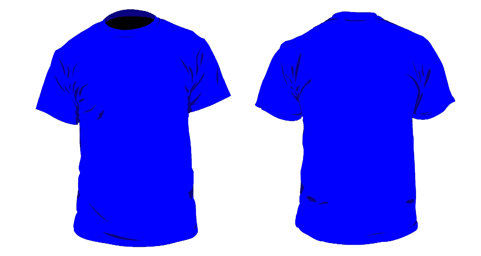Desain Baju Kaos Polos