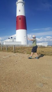 Dan Jon at Portland Bill
