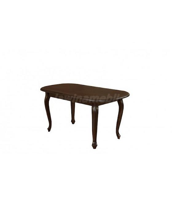 Stylowy stół do jadalni z forniru