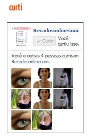 """código da caixa de fan box de página em """"facebook"""""""