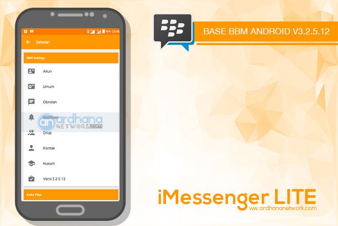 iMessenger Lite V1.0.0 - BBM MOD Android V3.2.5.12