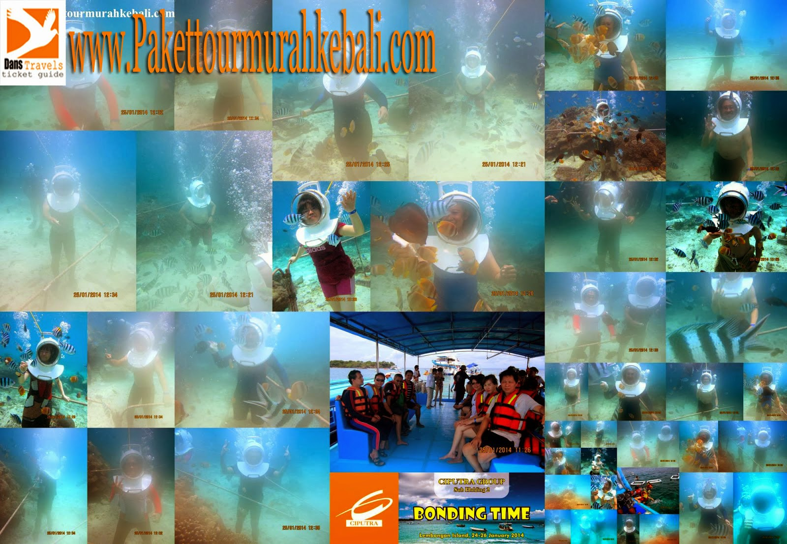 Seawalker Lembongan - Treasure Hunt Lembongan