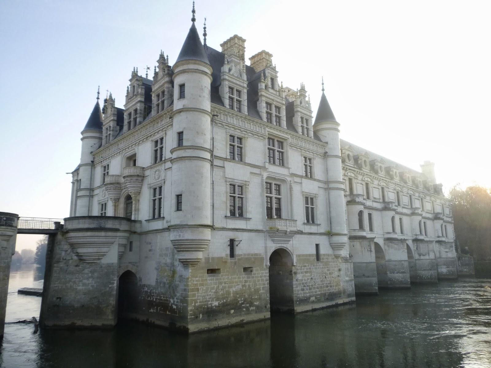 Chateau De Chenonceau Et Decors De Noel
