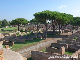 turismo personalizado roma  portugues - Ostia Antiga