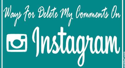 Cara Menghapus Komentar Pada Instagram