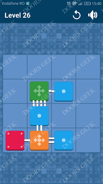 Connect Me - Logic Puzzle Level 26 Solution, Cheats, Walkthrough for android, iphone, ipad and ipod