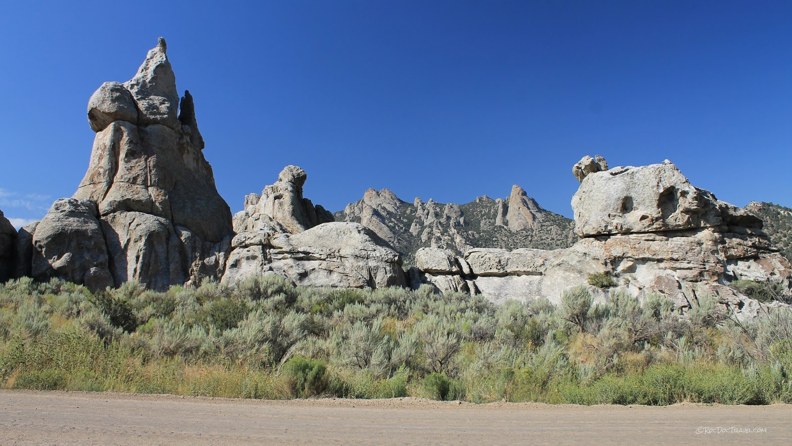 City of Rocks National Reserve Idaho geology travel field trip copyright rocdoctravel.com