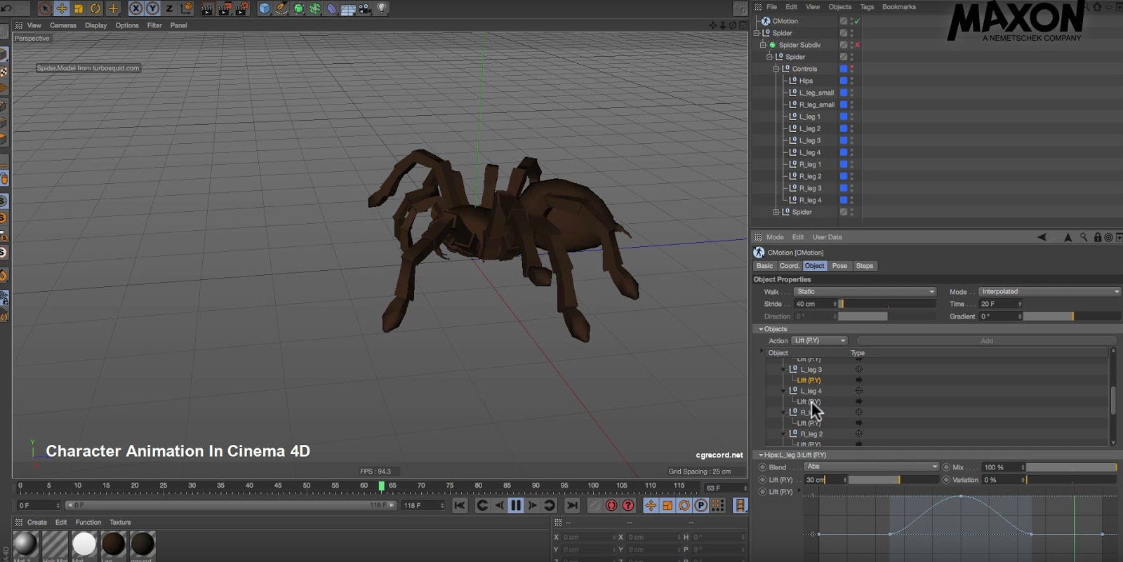 Character Design Cinema 4d Tutorial : Character animation in cinema d cg tutorial
