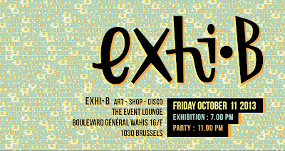 Exhi-B at The Event Lounge - Brussels, Belgium - October 2013