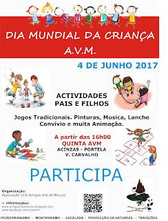 Dia Mundial da Criança AVM - 2017