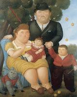 UNA FAMILIA -BOTERO