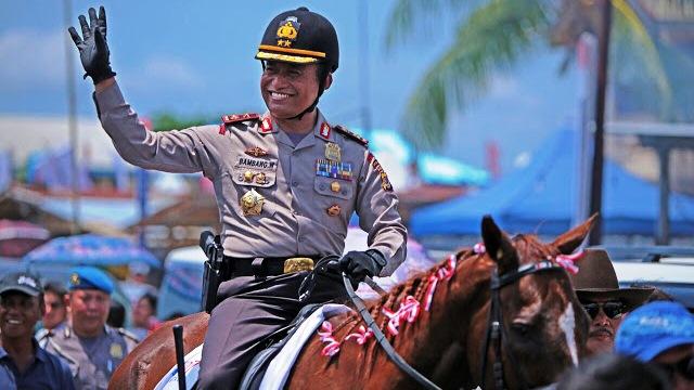 Mantap...!!! Polda Sulut Siap Gelar Kejuaraan Pacuan Kuda Bhayangkara CUP 2018