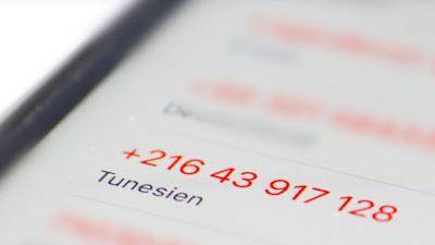 numeri provenienti dalla Tunisia
