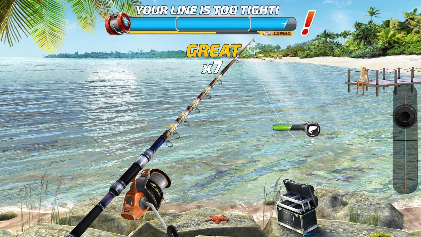 Fishing Clash Catching Game Bass Hunting 3D MOD APK terbaru