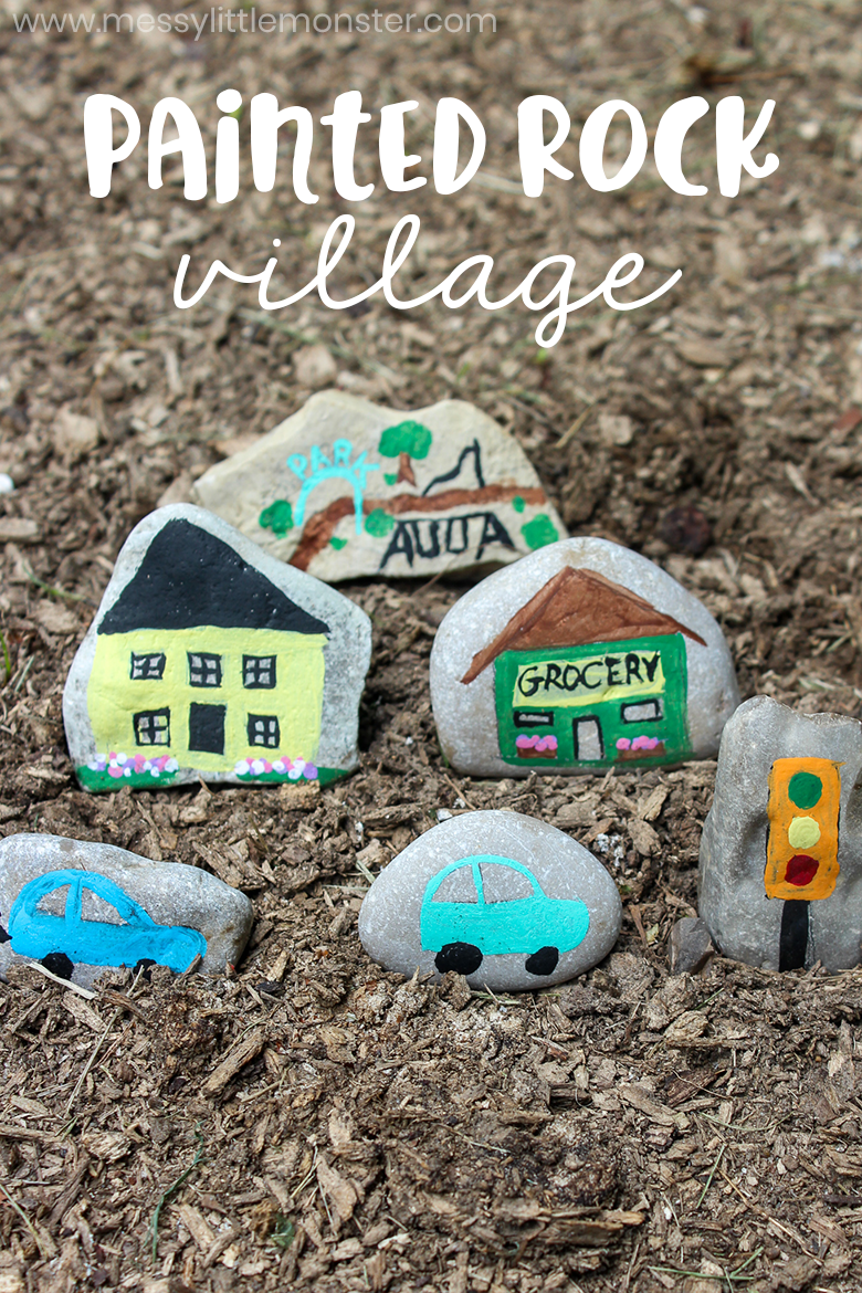 Easy rock painting ideas for kids. How to paint rocks and the best paint for rocks